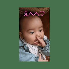 癒やされる赤ちゃんスタンプ