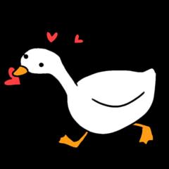 我的鵝會動