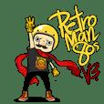 Retro Man 80's V.3