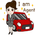 Smart girl Real Estate Agen