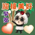 Miao panda good morning