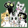 Cat sticker [Kittens]