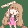 Korean Girl - Animated