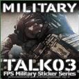Military FPS Talk Sticker 03