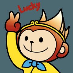LUCKY猴 初登場