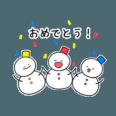 I'm Snowman!!!