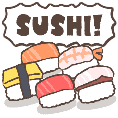 Move! Full of sushi