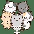 おちゃめなネコたち【カスタム】