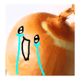 Broke down crying onion