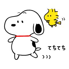 Snoopy Onomatopoeia Stickers