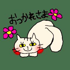 カラフル猫まみれ