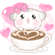 Pudding Hamster!! : Valentine Day 2021