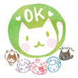 """Kawaii Hanko"" for reply2 ver.cat"