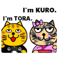 Our KURO and TORA.English ver.