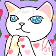藍眼睛的貓-斑斑與大大