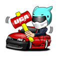 UGATV Sticker