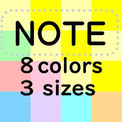 Note Sticker #7