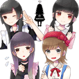 Mahoake Sticker