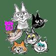 猫のBIbiと楽しい仲間たち ( 第2弾 )