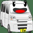 働く車:簡単連絡 D-H11 (白)