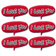 Love each other stickers