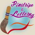 Pinstripe & Lettering