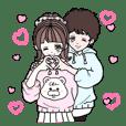 Miiちゃん&Tomoくんwithももころ