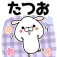 Tatsuo Name Sticker