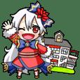 """let's go""""nojima-scuola""""sticker"""