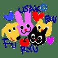 Rin&Ryu&Fuu&Usako