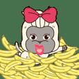 Chili funny monkey