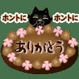 A kitten of a black cat9