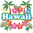 [sticker that pops out and moves Hawaii]