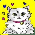 Fluffy Cat Sharon