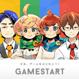 GAMESTART Official Sticker