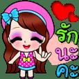 Lucky in Love Big Sticker