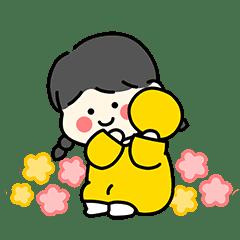 ね ん ね ん 可愛 い 5 歳(韓国語)