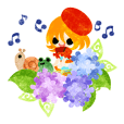 Tiny little children -Hydrangea- 2