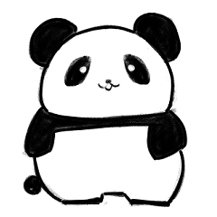 パンダのぺいちゃん日常スタンプ