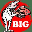 デカ文字【BIG】戯画トーク!