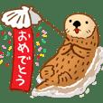 No sea otter, No life. <Congrats>JPN
