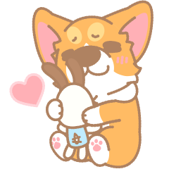 Corgi PonPon: Cute & Healing