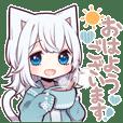 白猫少女2
