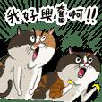 貓室友插畫貼圖15