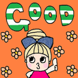 cute english sticker26