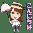 Minayo Watanabe of Chao sticker part2