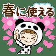Spring of Panda-Girl