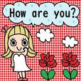 cute english sticker27