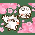 【ねことうさぎの春】2