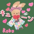 Kimono Rabbit in love
